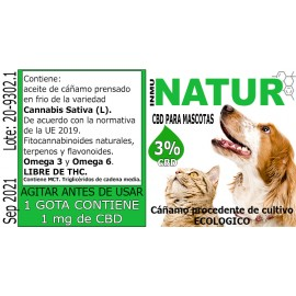 HEMP OIL FOR PETS - 300 mg...