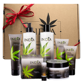 Gift set - skin care Hemp oil cosmetics