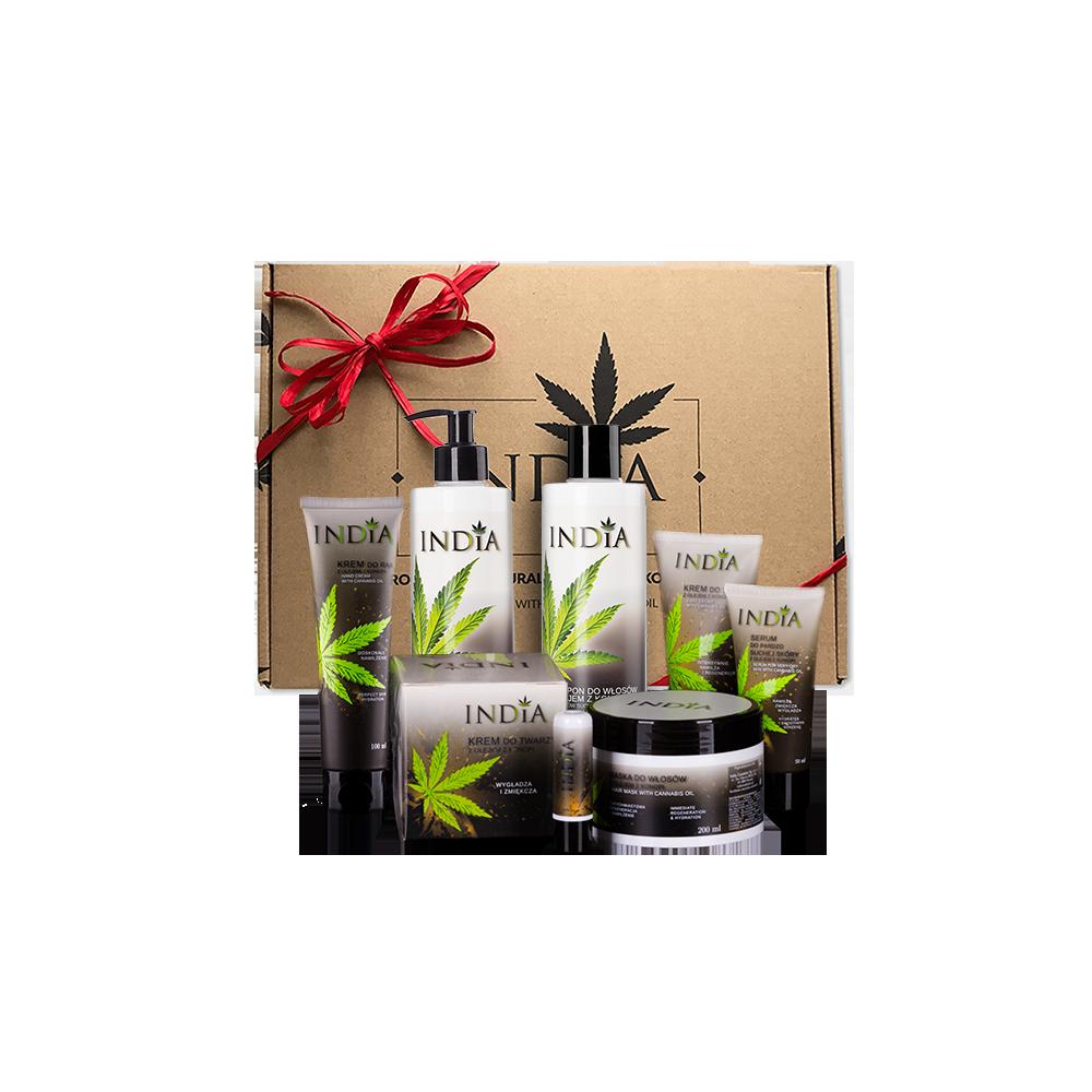 Gift set - skin care Hemp oil cosmetics